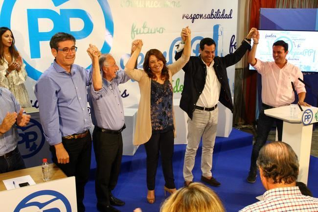 Carmen Crespo reelegida presidenta del PP de Adra de forma unánime