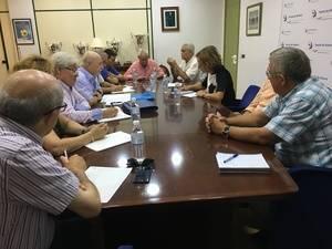 Primera toma de contacto entre la presidenta de la APA y la Agrupación de Asociaciones de Almería
