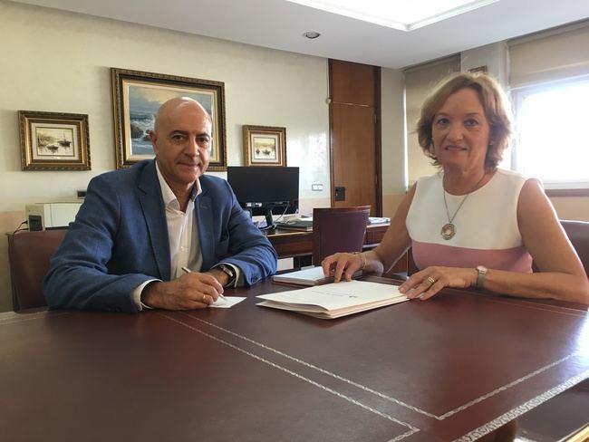 Reunión oficial entre la Autoridad Portuaria de Almería y la Fundación Bahía Almeriport