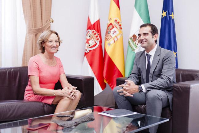 Fernández-Pacheco y Ortiz se comprometen a seguir impulsado el proyecto Puerto-Ciudad