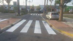 El Ayuntamiento activa en La Gangosa un nuevo Plan de Señalización Vial