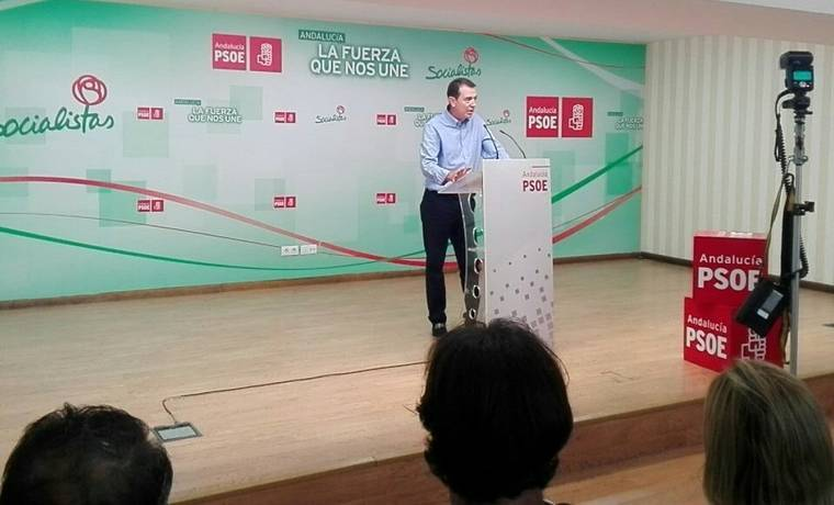 """Pérez Navas defiende un PSOE """"municipalista"""" y que no confunda """"Partido y administración"""""""
