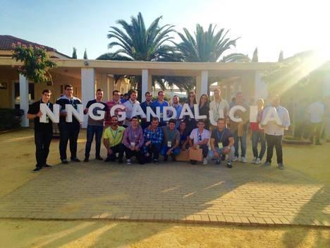12 jóvenes almerienses en la nueva ejecutiva andaluza de NNGG