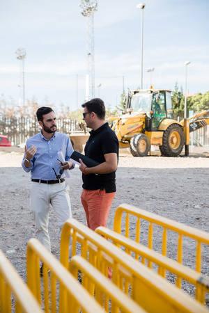 En construcción un aparcamiento público de 46 plazas en el barrio San Luis