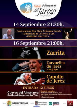 La figura de Camarón será el eje del Festival Flamenco del Jaroso