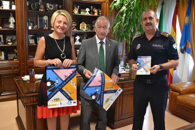 Roquetas presenta las actividades de la SEM y anuncia nuevas actuaciones en materia de movilidad