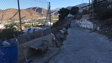 Ayuntamiento de Berja repara varias calles en el Cerrillo de Pago y El Llanete