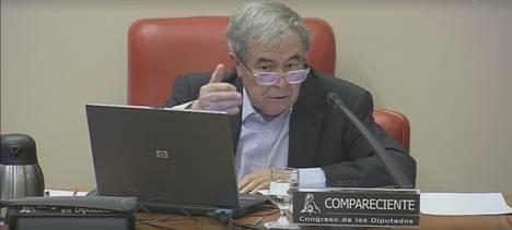 Expresidente del Banco Hipotecario destaca el caso de Almería en la Comisión de Investigación de la Crisis