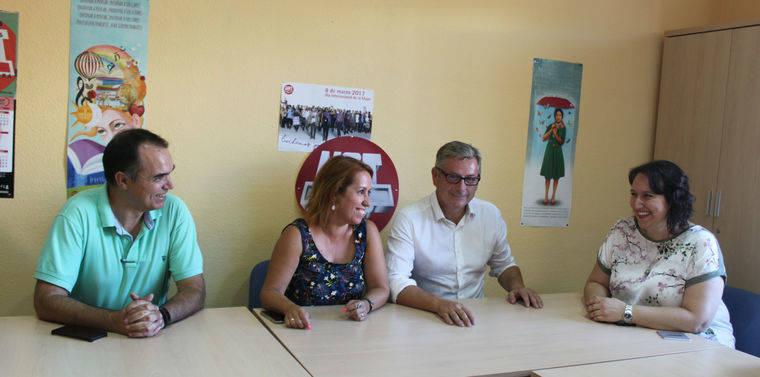 UGT traslada a López Olmo sus inquietudes ante la situación económica