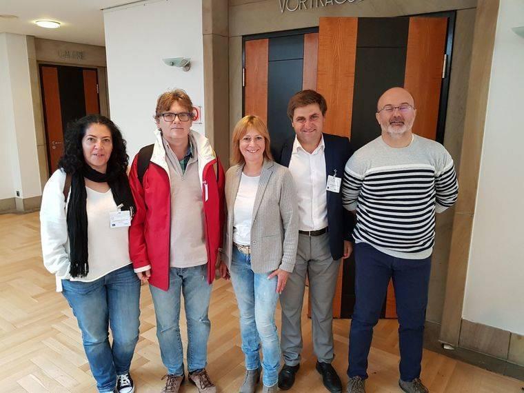 El concejal de Empleo de Roquetas intercambia experiencias sobre integración a través de la formación en Oldemburg