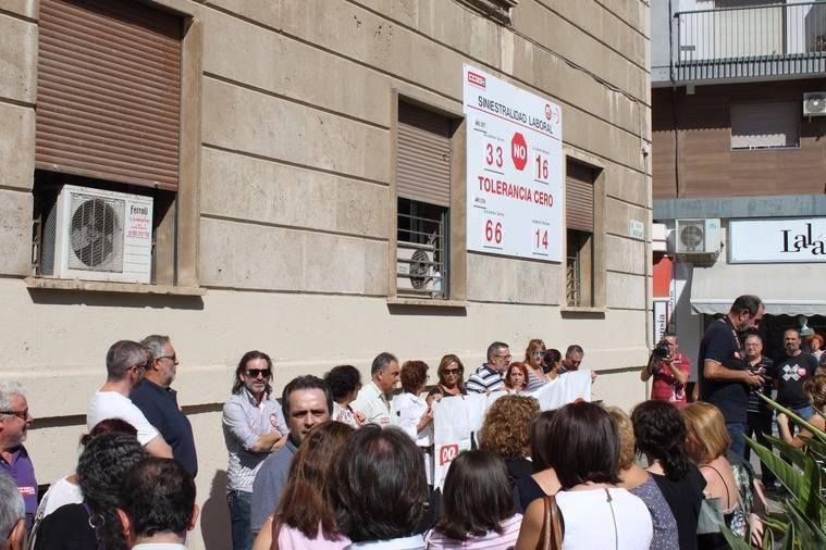 UGT y CCOO Almería alertan ante la alta siniestralidad que padece la provincia