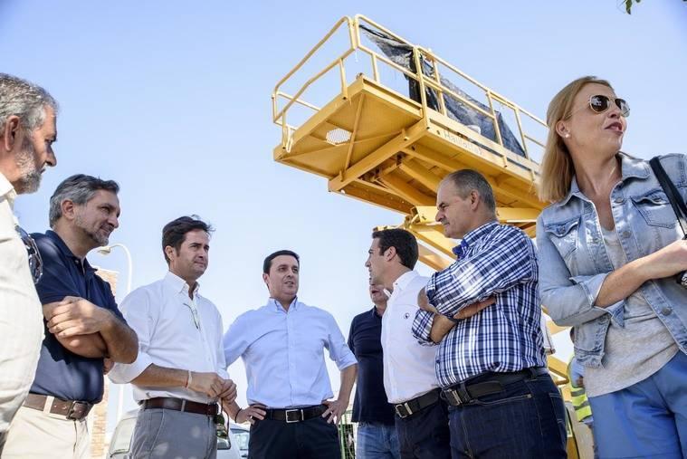 Diputación renueva la travesía de Balerma