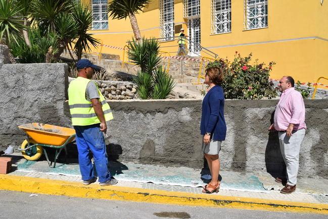 Comienzan las obras de embellecimiento y mejora de accesos al Barranco Aguilera de Gádor