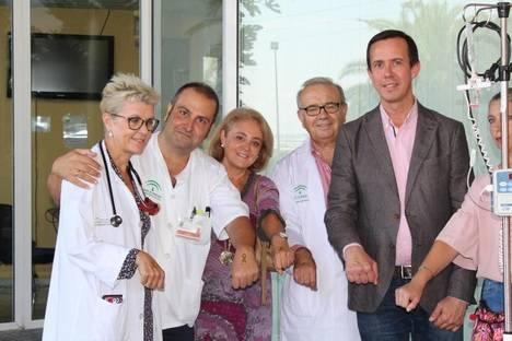 Torrecárdenas y Argar en la campaña 'Enciende la Esperanza' contra el cáncer infantil