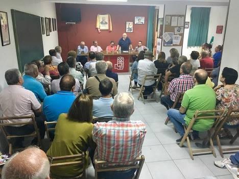 Antonio López Olmo se compromete en Berja a hacer una política diferenciada para pequeñas agrupaciones y municipios