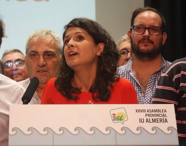 María Jesús Amate es elegida nueva coordinadora provincial de IU