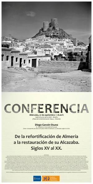 El IEA analiza la evolución histórica de la Alcazaba en su próxima conferencia