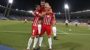 3-0: El Almería se hace un buen trabajo con el Sevilla Atlético