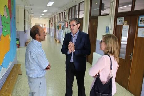Alcalde de Berja visita los centros escolares en el comienzo del curso escolar