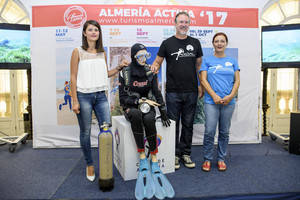 'Almería Activa' despide septiembre con Aventura Submarina 'Costa de Almería'