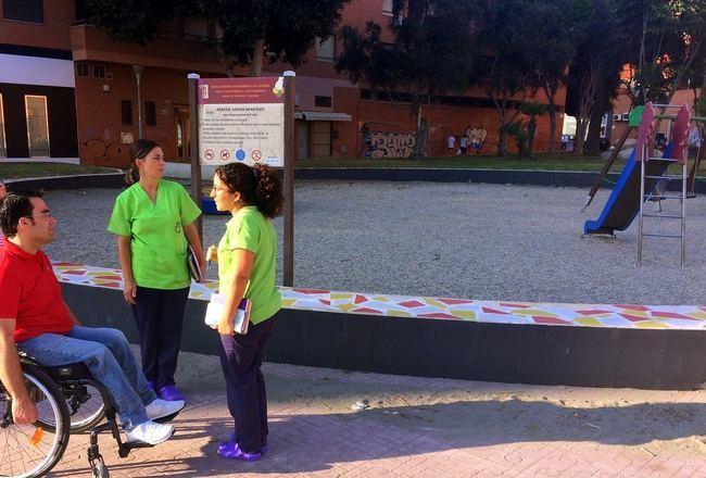 PSOE pide al alcalde que dote los parques infantiles de juegos adaptados para niños y niñas con discapacidad