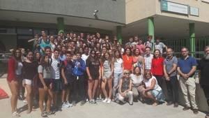 La delegada de Educación visita el IES Aguadulce con motivo del Día Europeo de las Lenguas