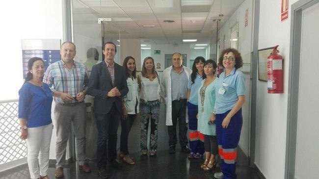 72 urgencias diarias en los centros de salud de Cuevas