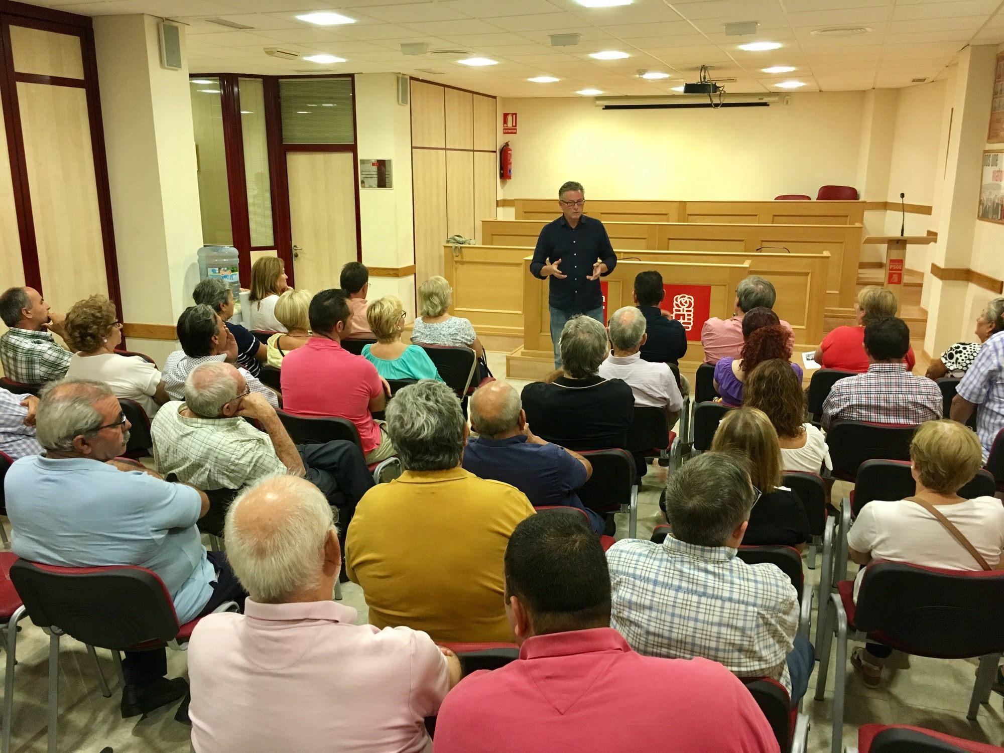 Antonio López Olmo garantiza un PSOE abierto y transparente