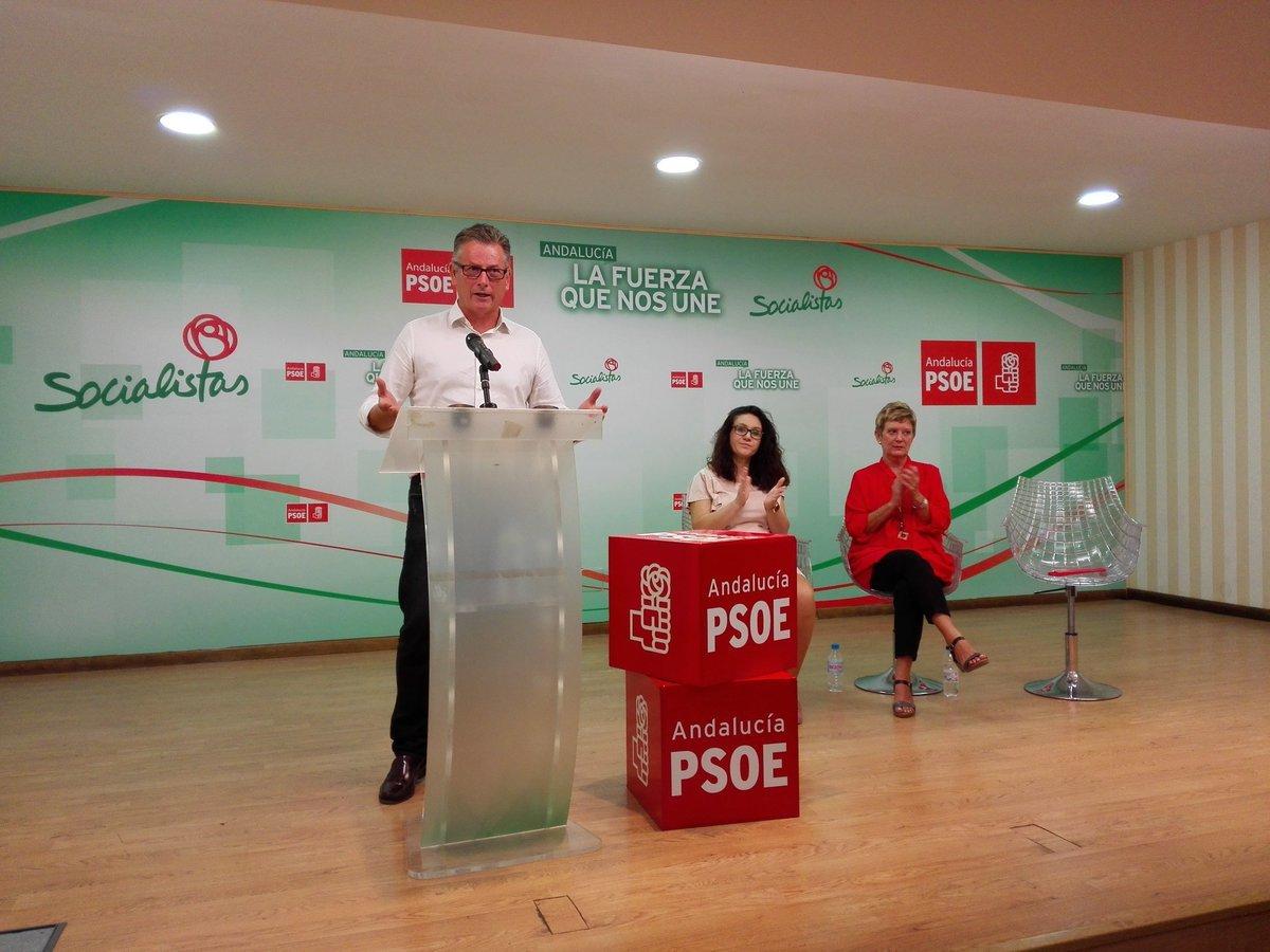 """López Olmo denuncia """"llamadas"""" desde la Junta de Andalucía para presionar a empleados en las Primarias"""