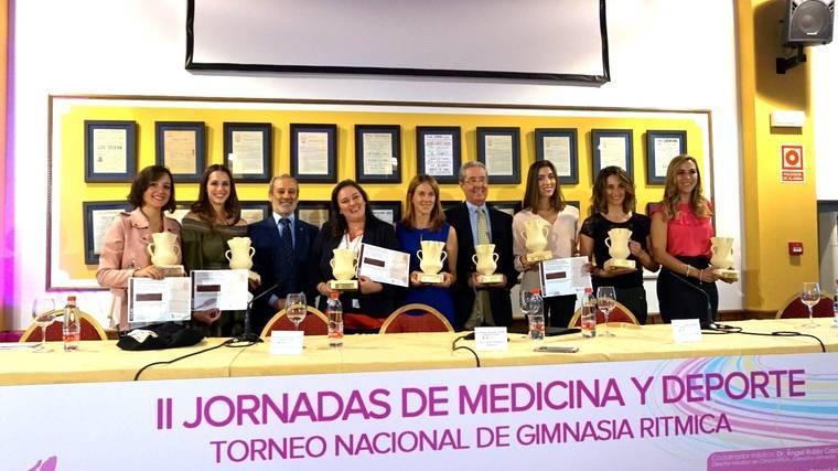 Se celebran en Vera las II Jornadas 'Medicina y Deporte. Gimnasia Rítmica'