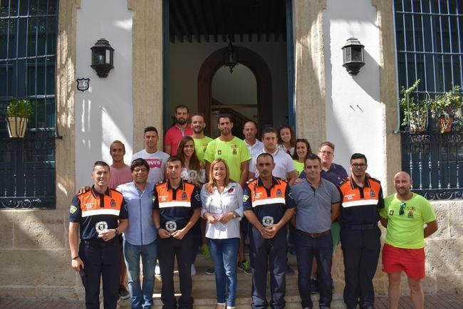 Ayuntamiento de Níjar reconoce la labor de los socorristas en las playas