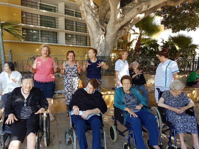 Unidad de Estancias Diurnas de Las Cabañuelas se suma a los actos del Día Internacional de las Personas Mayores