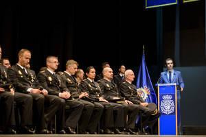 El alcalde tiene un recuerdo especial a los agentes destinados a Cataluña en el Día de los Ángeles Custodios