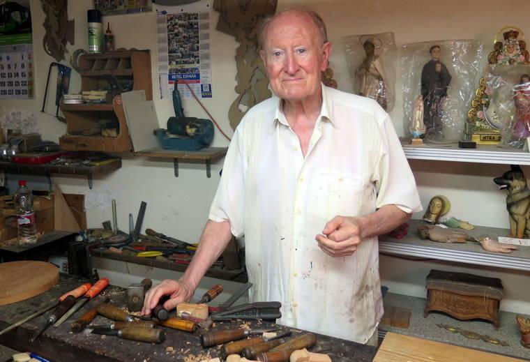 Tercera de las 'Tardes del IEA' dedicada al tallista y restaurador Javier Arcos Quero