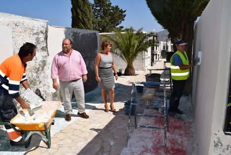 Obras de mejora en el Cementerio de Gádor