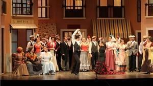 Teatro Lírico Andaluz pone en escena dos zarzuelas para celebrar la Gala del Mayor
