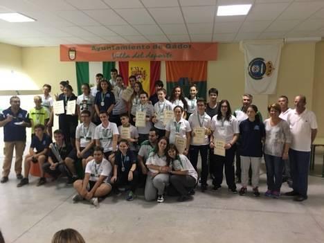 Brillante palmarés de los tiradores de Gádor en el Campeonato Andaluz de Jóvenes Promesas