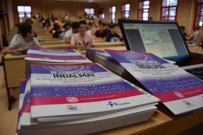 Las matemáticas se consolidan en la UAL creando cantera con el Concurso Indalmat