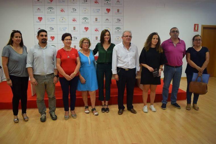 Bonilla presenta el programa ViveVicar, con las actividades municipales 2017-2018