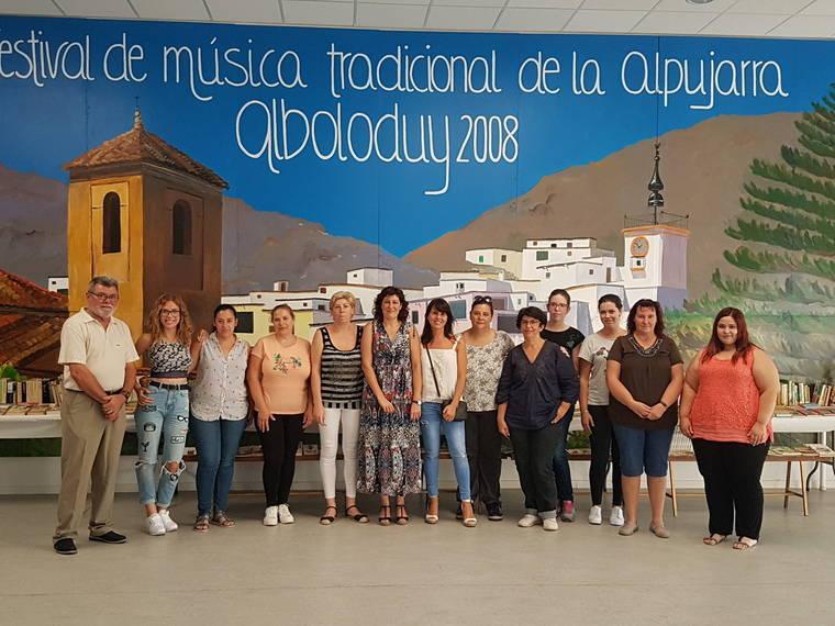 Diputación potencia la inserción laboral de 30 mujeres de seis municipios de la Alpujarra