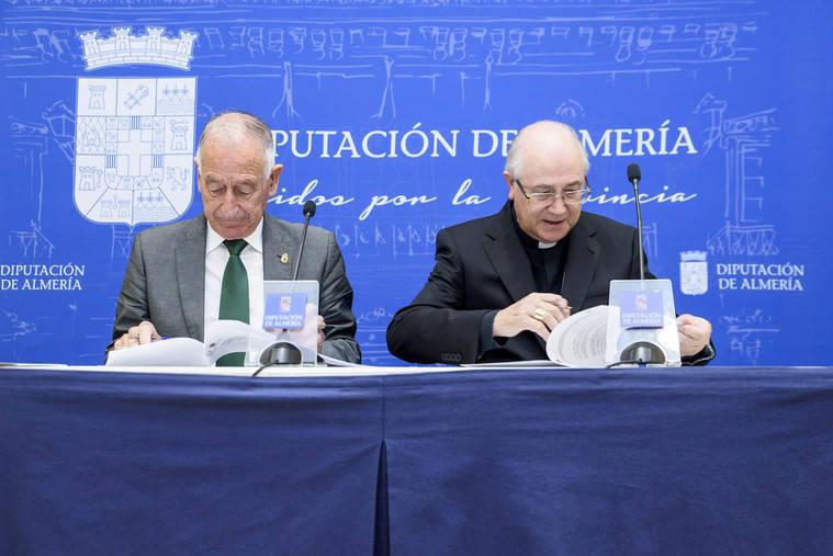 Diputación y Obispado invierten en el patrimonio histórico de la provincia con la restauración de 24 iglesias