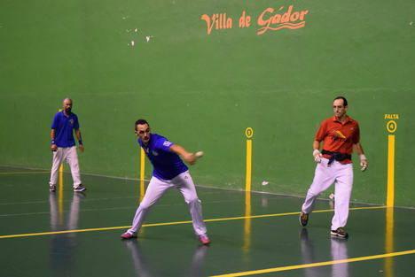 El combinado Gádor-Alhama se impone en la final del Torneo de Pelota de Feria