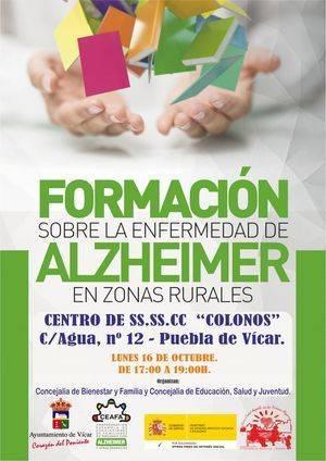 Servicios Sociales Los Colonos acogerá un taller de formación sobre el Alzheimer en zonas rurales