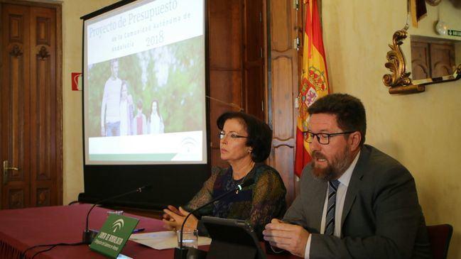El Gobierno andaluz vuelve a prometerlo todo en los presupuestos de 2018 para Almería
