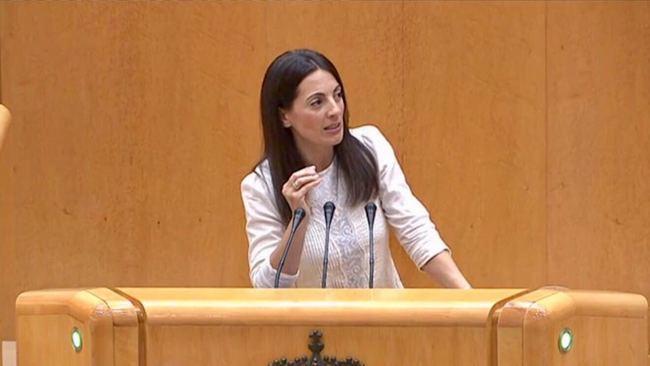 Rosario Soto ha pedido al PSOE que apoye los PGE para 2018 para que prosperen todas las medidas de apoyo previstas en la Proposición de Ley