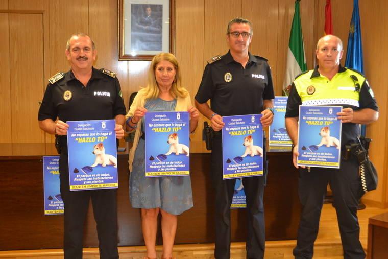 Policía para las mascotas de Roquetas