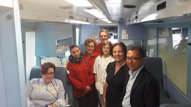 Centro de Transfusiones realiza 33 colectas en 17 municipios de Almería en octubre