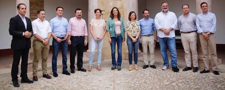 Javier A. García acude a la reunión de secretarios generales del PP andaluz