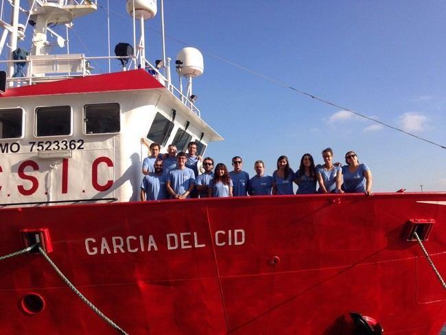 Continúa la búsqueda del carbono azul bajo las praderas de Posidonia Almería