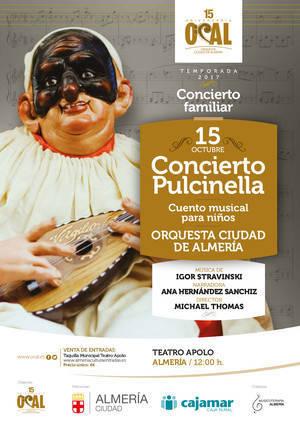 OCAL ofrece el domingo un concierto en familia con 'Pulcinella' de Stravinsky